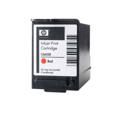 HP C6602R Original Red Ink cartridge