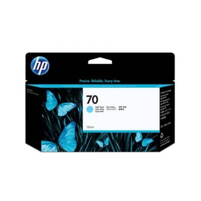 HP NO70 Original Light Cyan Ink Cartridge C9390A