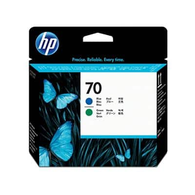 HP NO70 Original Blue & Green Print Head C9408A