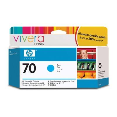 HP 70 Original Ink Cartridge C9452A Cyan