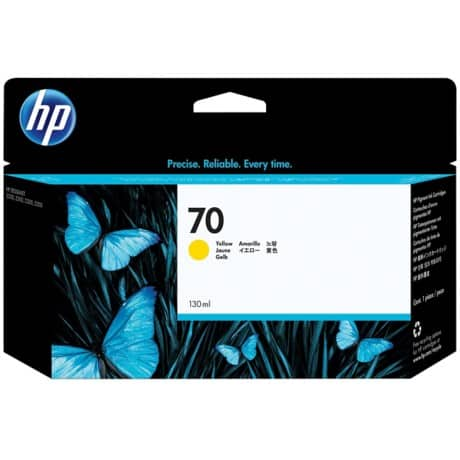 HP 70 Original Yellow Ink Cartridge C9454A