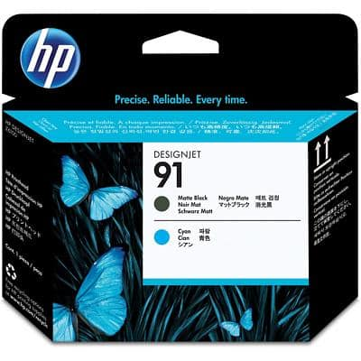 HP 91 Original Black & Cyan Print Head C9460A