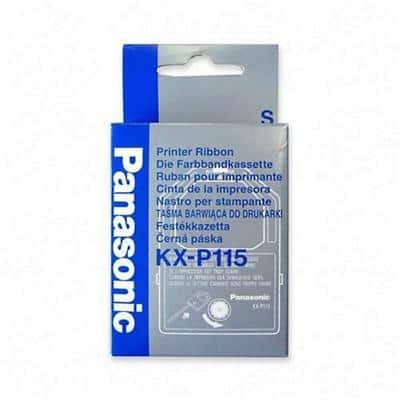 Panasonic black ribbon KXP115I Black