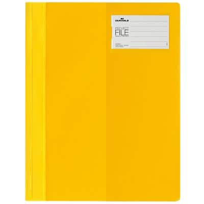 DURABLE Folder Premium Clear-View A4 Yellow Plastic