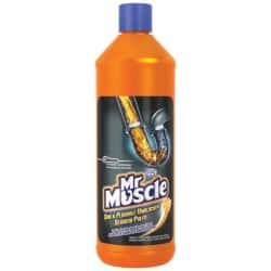 Mr Muscle Sink Unblocker unscented 1 l