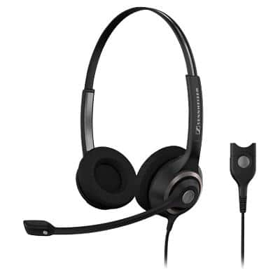 EPOS Sennheiser SC 260 Wired Headset Black