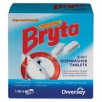 Bryta Professional Dishwasher Tablets 5 in 1 Pack of 120