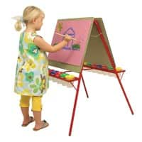 Brian Clegg Freestanding Easel Easy Clean 59 x 125cm Red & Green