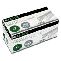 Leitz Electric E2 Staples 5569 Galvanized Pack of 2500