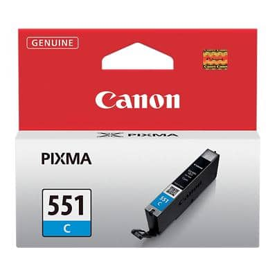 Canon CLI-551C Original Ink Cartridge Cyan