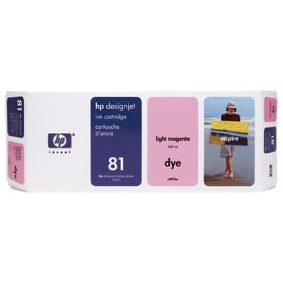 HP 81 Original Ink Cartridge C4932A Magenta