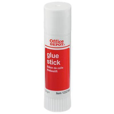 Office Depot Glue Stick Transparent 20g Pack of 36
