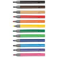 Colourworld Felt Tip Pens Broad Assorted Pack of 144