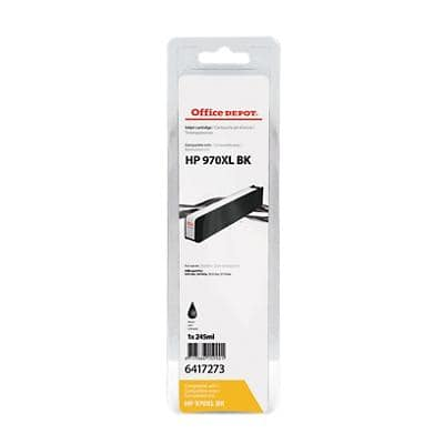Office Depot Compatible HP 970XL Ink Cartridge CN625AE Black