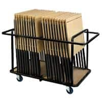Proform Trolley Beech Coloured Top and Black Frame 600 x 550 x 725 mm