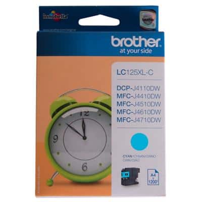 Brother LC125XLC Original Ink Cartridge Cyan
