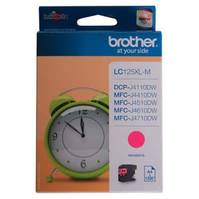 Brother LC125XLM Original Ink Cartridge Magenta