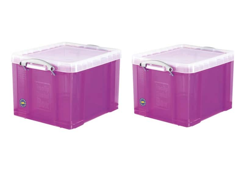 Really Useful Plastic Storage Box 310 H X 390 W X 480 D Mm U2013 35
