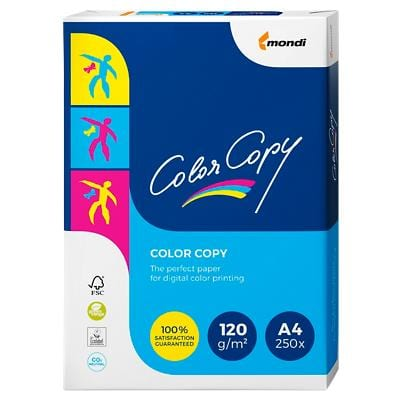 Color Copy Copy Paper A4 120gsm White 250 Sheets