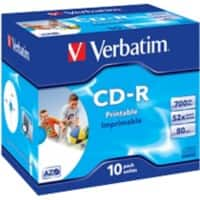 Verbatim CD-R 700 MB 10 Pieces