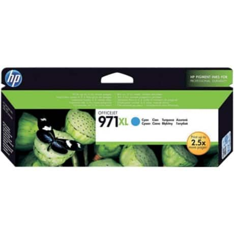 HP 971XL Original Ink Cartridge CN626AE Cyan
