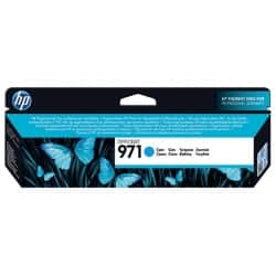 HP 971 Original Ink Cartridge CN622AE Cyan