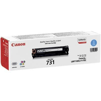 Canon 731C Original Toner Cartridge Cyan 1