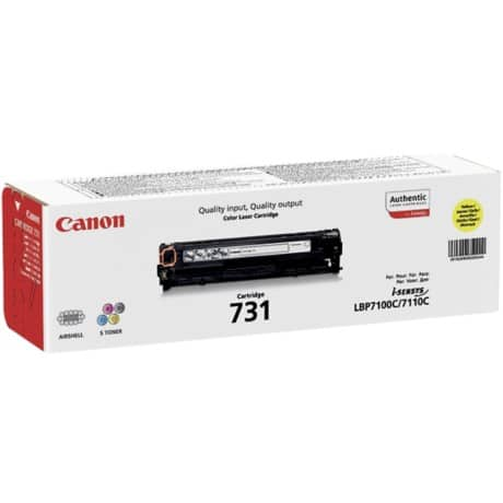 Canon 731 Original Toner Cartridge Yellow