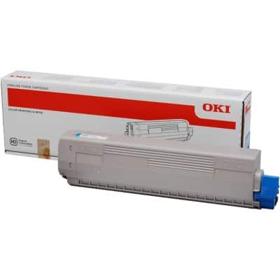 OKI 44844507 Original Toner Cartridge Cyan