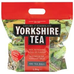 Yorkshire Tea Bags One Cup 480 pieces