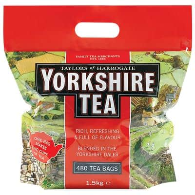 Yorkshire Tea Bags 1660g 480 Pieces