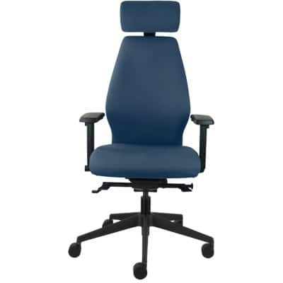 Energi-24 Office Chair Executive Solo Synchro Tilt Blue