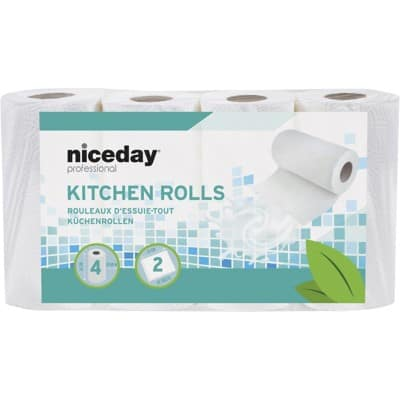 Highmark Kitchen Rolls Standard 2 Ply 4 Pieces of 42 Sheets