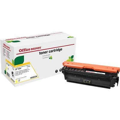 Compatible Office Depot HP 508X Toner Cartridge CF362X Yellow
