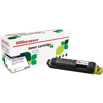 Compatible Office Depot Kyocera TK-5150Y Toner Cartridge Yellow