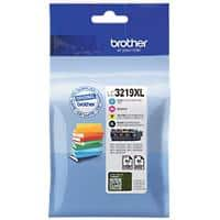 Brother LC3219XL Original Ink Cartridge Black, Cyan, Magenta, Yellow Pack of 4