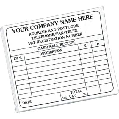 Personalised Customised Forms 102 x 148 mm 10 Pieces