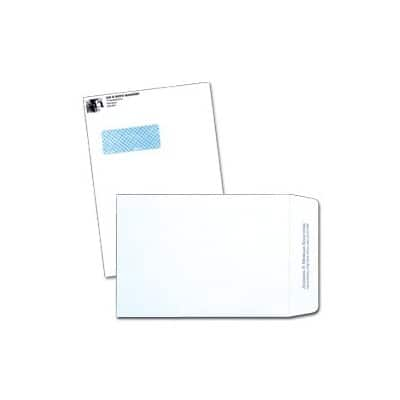 C4 Self-Seal Plain Envelopes-White (500/bx)