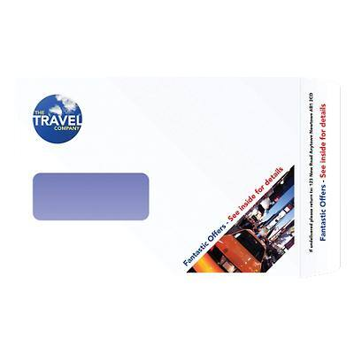 C5 Self-Seal Window Envelopes-White (500/bx)