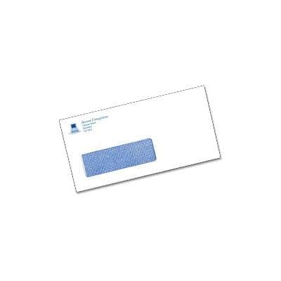 DL Self-Seal 1 Print Colour Window Envelopes-White (500/bx)