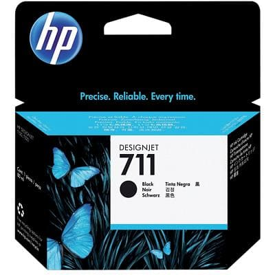HP 711 Original Ink Cartridge CZ133A Black