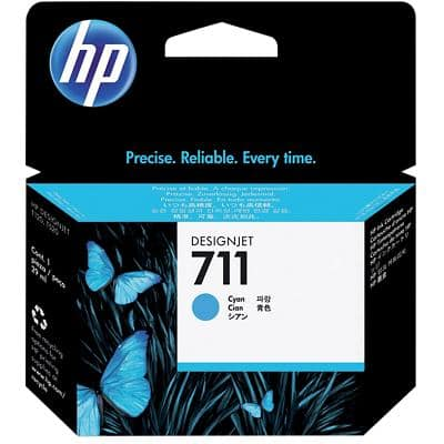 HP 711 Original Ink Cartridge CZ130A Cyan