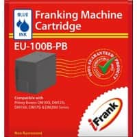 Compatible franking ink for the Pitney Bowes DM100 series machines - blue Ink