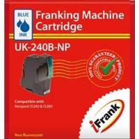 iFrank Franking Machine Ink Cartridge UK-240B-NP Blue