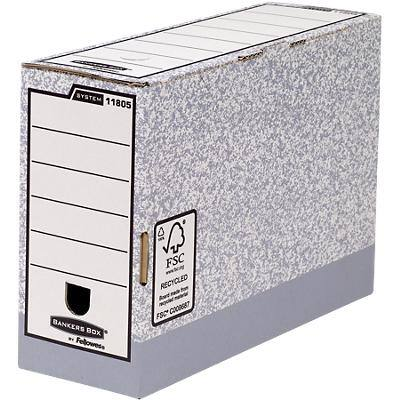 Bankers Box System FastFold Transfer File 120mm - Pack of 10