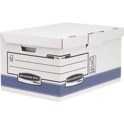 Fellowes Bankers Box System Flip Top Storage Box - Pack 10