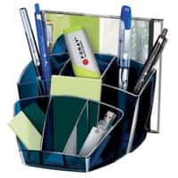 Office Depot Desk Organiser Plastic Midnight Blue 15.8 x 14.3 x 9.3 cm