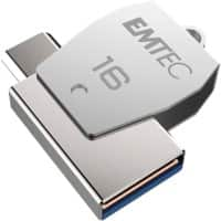 EMTEC USB Flash Drive T250B 16 GB Grey
