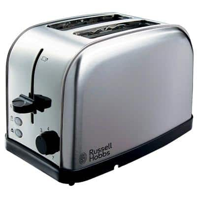 Russell Hobbs Toaster 2 Slices Futura Silver