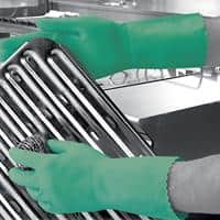Polyco Gloves Rubber Size XS Green